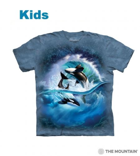 Orca Wave - Kids Whale T-shirt - The Mountain®
